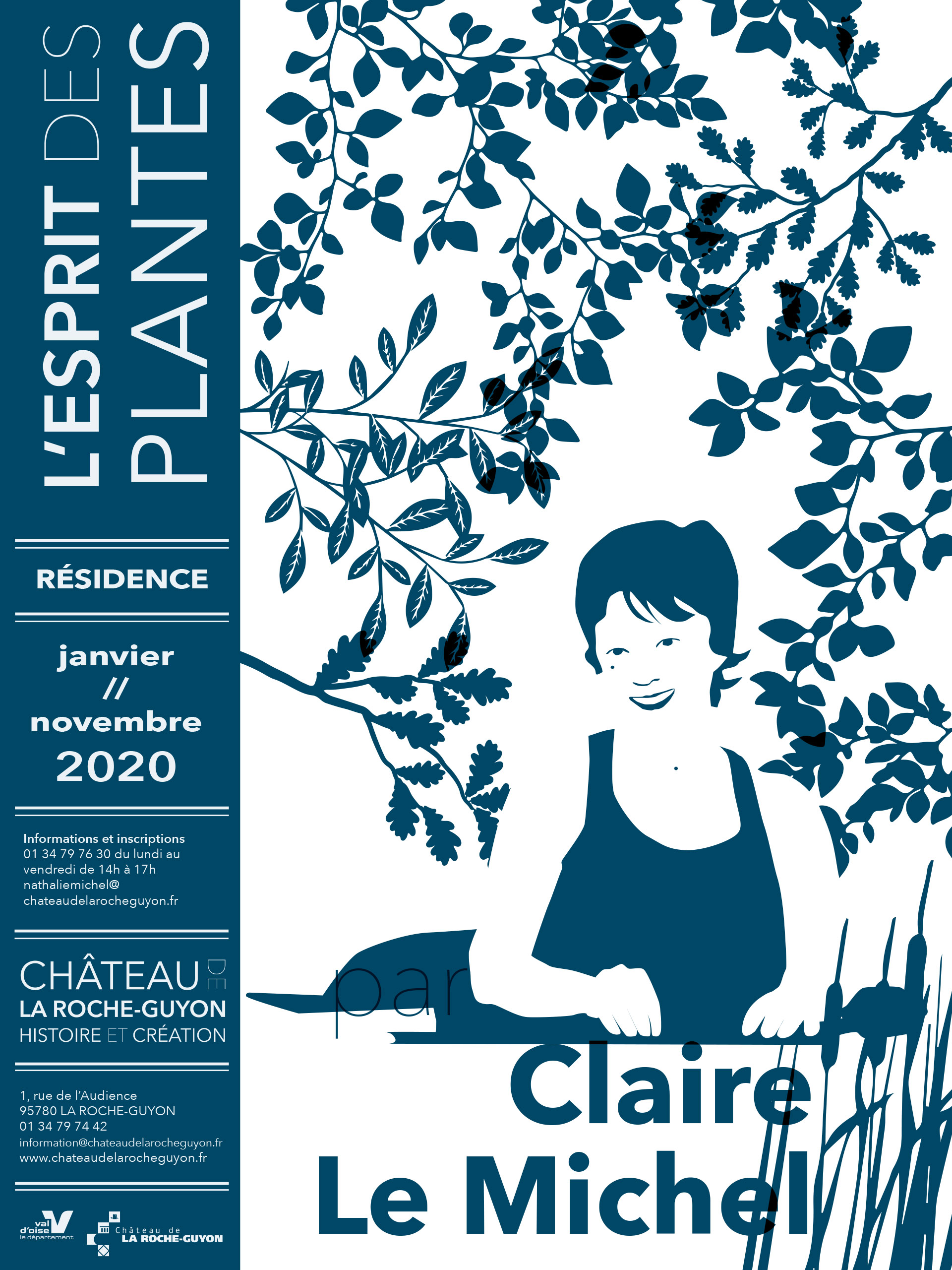 Affiche-residence-clairelemichel